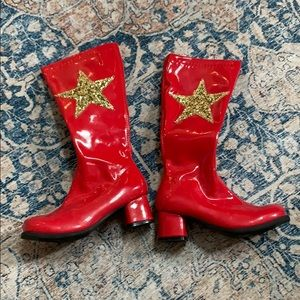 Chasing Fireflies Costumes - Wonder Woman leather costume boots
